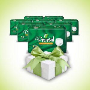 מארז 8 שקיות תחתונים סופגים של פריבל אקסטרה + מתנה Prevail