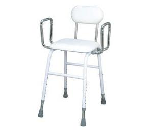 כסא מטבח טלסקופי עם גב וידיות