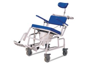 כסא רחצה ושירותים טילט מאלומיניום