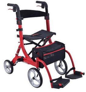 רולטור 4 גלגלים עם בולם זעזועים DUO