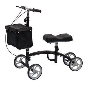 רולטור ברך 4 גלגלים עם סל