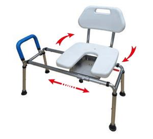 כסא העברה לאמבט, מסתובב, קשיח COS-SC02